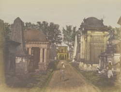 Cemetry [sic], Calcutta 247246